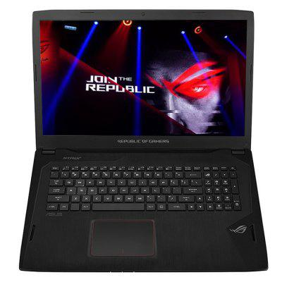 ASUS ROG S7VI7700 Gaming LaptopLaptops<br>ASUS ROG S7VI7700 Gaming Laptop<br><br>AC adapter: 100-240V<br>Audio Jack: Earphone / Mic<br>Backlight Type: RGB Light<br>Bluetooth: Bluetooth 4.2<br>Brand: ASUS<br>Caching: 6MB<br>Camera type: Single camera<br>Card Reader Interface: 4 in 1<br>Core: Quad Core, 2.8GHz<br>CPU: Intel Core i7-7700HQ<br>CPU Brand: Intel<br>CPU Series: Core i7<br>DC Jack: Yes<br>Display Ratio: 16:9<br>English Manual: 1<br>Graphics Capacity: 8G<br>Graphics Chipset: NVIDIA GeForce GTX1080<br>Graphics Type: Dedicated Graphics<br>Hard Disk Memory: 512GB SSD + 1TB HDD<br>HDMI: Yes<br>Languages: Windows OS is built-in English, and other languanges need to be downloaded by WiFi<br>Largest RAM Capacity: 32GB<br>Mainboard: Intel HM175<br>MIC: Supported<br>Mini DP Port: Yes<br>Notebook: 1<br>OS: Windows 10<br>Package size: 47.50 x 34.00 x 5.20 cm / 18.7 x 13.39 x 2.05 inches<br>Package weight: 3.8000 kg<br>Power Adapter: 1<br>Power Cable: 1<br>Power Consumption: 45W<br>Process Technology: 14nm<br>Product size: 41.50 x 28.00 x 3.70 cm / 16.34 x 11.02 x 1.46 inches<br>Product weight: 3.3000 kg<br>RAM: 8GB<br>RAM Slot Quantity: Two<br>RAM Type: DDR4<br>RJ45 connector: Yes<br>Screen resolution: 1920 x 1080 (FHD)<br>Screen size: 17.3 inch<br>Screen type: 1080P FHD, LED<br>Speaker: Supported<br>Threading: 8<br>Type: Gaming Laptop<br>Type-C: Yes<br>Usage: Game<br>USB Host: Yes 3?USB3.0<br>WIFI: 802.11 ac