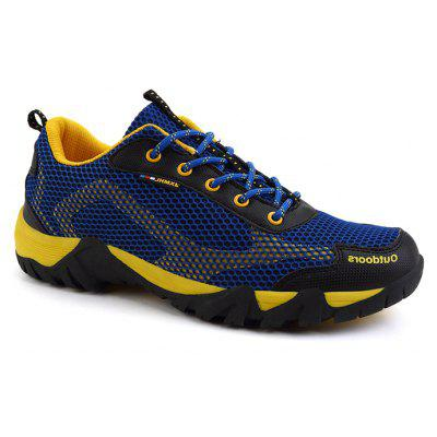 Men Outdoor Mesh Lightweight Hiking Athletic Shoes