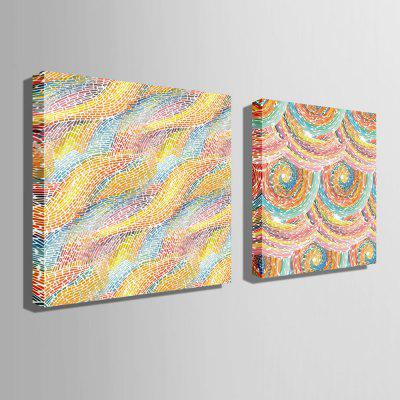 E - HOME Canvas Prints Abstract Style Hanging Wall Art 2PCSPrints<br>E - HOME Canvas Prints Abstract Style Hanging Wall Art 2PCS<br><br>Brand: E-HOME<br>Craft: Print<br>Form: Two Panels<br>Material: Canvas<br>Package Contents: 2 x Print<br>Package size (L x W x H): 80.00 x 5.00 x 5.00 cm / 31.5 x 1.97 x 1.97 inches<br>Package weight: 0.5400 kg<br>Painting: Without Inner Frame<br>Product size (L x W x H): 70.00 x 70.00 x 0.20 cm / 27.56 x 27.56 x 0.08 inches<br>Product weight: 0.2800 kg<br>Shape: Square<br>Style: Modern<br>Subjects: Abstract<br>Suitable Space: Living Room