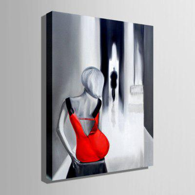 E - HOME Canvas Woman Oil Painting Hanging Wall ArtOil Paintings<br>E - HOME Canvas Woman Oil Painting Hanging Wall Art<br><br>Brand: E-HOME<br>Craft: Oil Painting<br>Form: One Panel<br>Material: Canvas<br>Package Contents: 1 x Oil Painting<br>Package size (L x W x H): 50.00 x 5.00 x 5.00 cm / 19.69 x 1.97 x 1.97 inches<br>Package weight: 0.4000 kg<br>Painting: Without Inner Frame<br>Product size (L x W x H): 40.00 x 60.00 x 0.20 cm / 15.75 x 23.62 x 0.08 inches<br>Product weight: 0.2000 kg<br>Shape: Vertical<br>Style: Modern<br>Subjects: Figure Painting<br>Suitable Space: Bedroom,Cafes,Dining Room,Hotel,Kitchen,Living Room