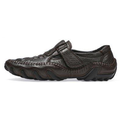 Men Stylish Soft Octopus-sole Casual Oxford ShoesMen's Oxford<br>Men Stylish Soft Octopus-sole Casual Oxford Shoes<br><br>Closure Type: Buckle Strap<br>Contents: 1 x Pair of Shoes, 1 x Box, 1 x Dustproof Paper<br>Function: Slip Resistant<br>Materials: Rubber, Leather<br>Occasion: Tea Party, Shopping, Office, Holiday, Party, Casual, Daily, Dress<br>Outsole Material: Rubber<br>Package Size ( L x W x H ): 33.00 x 22.00 x 11.00 cm / 12.99 x 8.66 x 4.33 inches<br>Package weight: 0.7500 kg<br>Pattern Type: Solid<br>Product weight: 0.6000 kg<br>Seasons: Autumn,Spring<br>Style: Modern, Leisure, Fashion, Comfortable, Casual, Business<br>Toe Shape: Round Toe<br>Type: Casual Leather Shoes<br>Upper Material: Leather