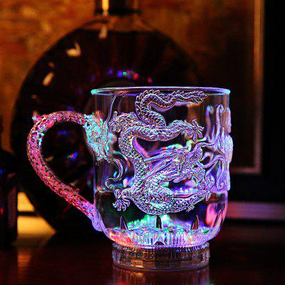 Colorful Luminous LED Induction Magic Cup 285ml