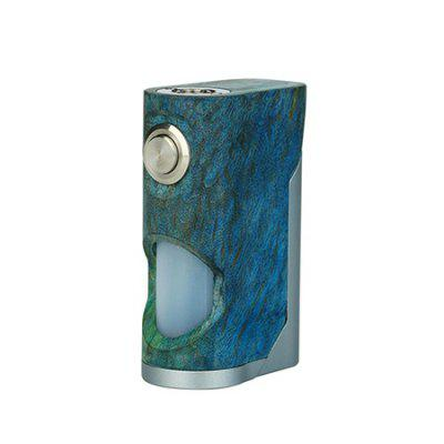 Arctic Dolphin Soul Stabilized Wood Squonk Mod