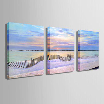 E - HOME Shore Scene Print 3pcsPrints<br>E - HOME Shore Scene Print 3pcs<br><br>Brand: E-HOME<br>Craft: Print<br>Form: Three Panels<br>Material: Canvas<br>Package Contents: 3 x Print<br>Package size (L x W x H): 45.00 x 5.00 x 5.00 cm / 17.72 x 1.97 x 1.97 inches<br>Package weight: 0.3000 kg<br>Painting: Without Inner Frame<br>Product size (L x W x H): 35.00 x 50.00 x 0.20 cm / 13.78 x 19.69 x 0.08 inches<br>Product weight: 0.1800 kg<br>Shape: Horizontal<br>Style: Modern Style<br>Subjects: Landscape<br>Suitable Space: Bedroom,Cafes,Dining Room,Hallway,Hotel,Kids Room,Living Room,Office