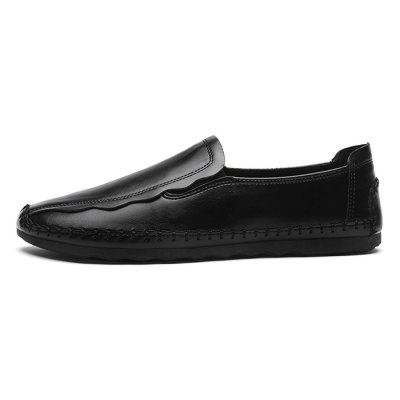 Men Stylish Soft Lustrous Casual Flat Driving LoafersFlats &amp; Loafers<br>Men Stylish Soft Lustrous Casual Flat Driving Loafers<br><br>Closure Type: Slip-On, Slip-On<br>Contents: 1 x Pair of Shoes, 1 x Box, 1 x Pair of Shoes, 1 x Box<br>Function: Slip Resistant, Slip Resistant<br>Lining Material: Mesh, Mesh<br>Materials: Microfiber Leather, Mesh, Mesh, Rubber, Rubber, Microfiber Leather<br>Occasion: Party, Party, Shopping, Shopping, Tea Party, Tea Party, Office, Office, Casual, Casual, Daily, Daily, Formal, Dress, Holiday, Dress, Formal, Holiday<br>Outsole Material: Rubber, Rubber<br>Package Size ( L x W x H ): 30.00 x 20.00 x 10.00 cm / 11.81 x 7.87 x 3.94 inches, 30.00 x 20.00 x 10.00 cm / 11.81 x 7.87 x 3.94 inches<br>Package weight: 0.6500 kg, 0.6500 kg<br>Pattern Type: Solid, Solid<br>Product weight: 0.6000 kg, 0.6000 kg<br>Seasons: Autumn,Spring, Autumn,Spring<br>Style: Casual, Casual, Business, Business, Formal, Modern, Comfortable, Formal, Comfortable, Fashion, Fashion, Leisure, Modern, Leisure<br>Toe Shape: Round Toe, Round Toe<br>Type: Flat Shoes, Flat Shoes<br>Upper Material: Microfiber Leather, Microfiber Leather