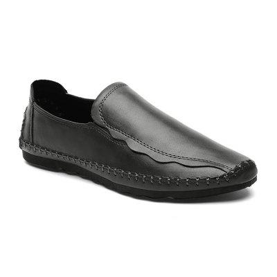 Men Stylish Soft Lustrous Casual Flat Driving Loafers