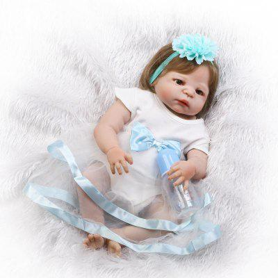 Vivid Soft Silicone Reborn Baby Doll Puzzle ToyStuffed Cartoon Toys<br>Vivid Soft Silicone Reborn Baby Doll Puzzle Toy<br><br>Features: Sleep Helping, Soft<br>Materials: Silica Gel<br>Package Contents: 1 x Doll Toy, 1 x Bottle, 1 x Nipple<br>Package size: 55.00 x 22.50 x 15.00 cm / 21.65 x 8.86 x 5.91 inches<br>Package weight: 1.9000 kg<br>Product size: 55.00 x 25.50 x 15.00 cm / 21.65 x 10.04 x 5.91 inches<br>Product weight: 1.6000 kg<br>Series: Reborn Doll<br>Theme: Baby Doll