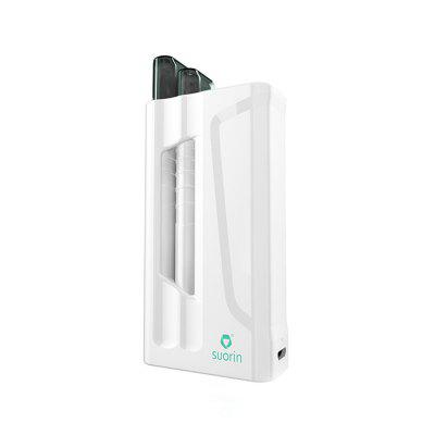 Suorin iShare Starter KitStarter Kits<br>Suorin iShare Starter Kit<br><br>Brand: Suorin<br>Material: PC, Zinc Alloy<br>Package Contents: 1 x Mod, 2 x Pod, 1 x USB Cable, 1 x English User Manual<br>Package size (L x W x H): 14.00 x 8.00 x 4.50 cm / 5.51 x 3.15 x 1.77 inches<br>Package weight: 0.1640 kg<br>Product size (L x W x H): 8.50 x 4.50 x 2.10 cm / 3.35 x 1.77 x 0.83 inches<br>Product weight: 0.1200 kg