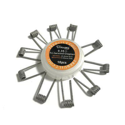 Utrabo Tri-twisted Clapton Heating Wire 10pcs