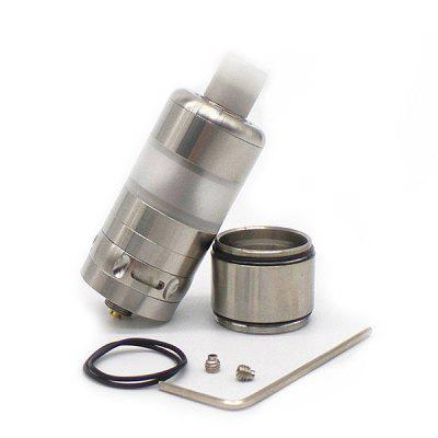 RO V3 RTAVapor Atomizers<br>RO V3 RTA<br><br>Atomizer: Rebuildable Atomizer<br>Material: Stainless Steel<br>Package Contents: 1 x RTA, 1 x Accessory Bag, 1 x 5ml Stainless Steel Tank<br>Package size (L x W x H): 8.50 x 3.00 x 3.00 cm / 3.35 x 1.18 x 1.18 inches<br>Package weight: 0.1200 kg<br>Product size (L x W x H): 6.00 x 2.20 x 2.20 cm / 2.36 x 0.87 x 0.87 inches<br>Product weight: 0.0680 kg