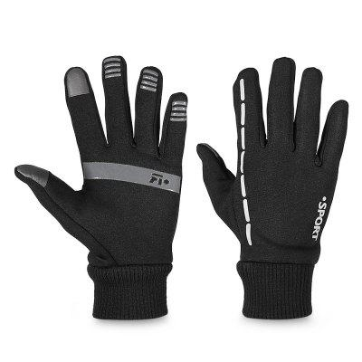 Pair of Winter Full-finger Touch Warm-keeping Screen GlovesSkiing &amp; Snowboarding<br>Pair of Winter Full-finger Touch Warm-keeping Screen Gloves<br><br>Gender: Unisex<br>Material: Polyester<br>Package Contents: 1 x Pair of Gloves<br>Package size (L x W x H): 25.00 x 12.00 x 4.00 cm / 9.84 x 4.72 x 1.57 inches<br>Package weight: 0.0790 kg<br>Product size (L x W x H): 23.00 x 14.00 x 1.50 cm / 9.06 x 5.51 x 0.59 inches<br>Product weight: 0.0750 kg<br>Style Design: Full Finger