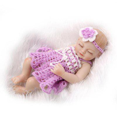 Emulate Reborn Baby Doll Soft Stuffed Sleeping Kids ToyStuffed Cartoon Toys<br>Emulate Reborn Baby Doll Soft Stuffed Sleeping Kids Toy<br><br>Features: Sleep Helping, Stuffed and Plush<br>Materials: Cloth, Silica Gel<br>Package Contents: 1 x Doll<br>Package size: 28.00 x 15.00 x 10.50 cm / 11.02 x 5.91 x 4.13 inches<br>Package weight: 0.6000 kg<br>Product size: 28.00 x 12.00 x 5.00 cm / 11.02 x 4.72 x 1.97 inches<br>Product weight: 0.4000 kg<br>Series: Reborn Doll<br>Theme: Baby Doll