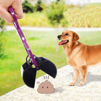Длинная ручка Собака Pooper Scooper Pet Feces Stretch Shovel
