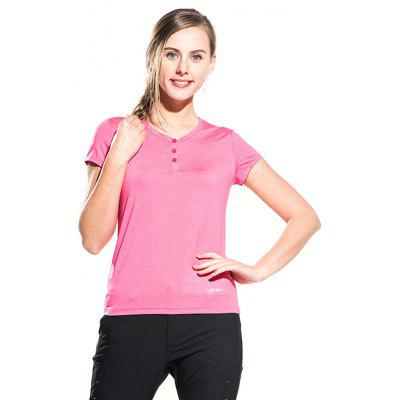 Women Ultraviolet-proof Ice T-shirtTees<br>Women Ultraviolet-proof Ice T-shirt<br><br>Collar: V-Neck<br>Material: Polyester, Spandex<br>Package Contents: 1 x T-shirt<br>Package size: 40.00 x 30.00 x 1.00 cm / 15.75 x 11.81 x 0.39 inches<br>Package weight: 0.2240 kg<br>Product weight: 0.2000 kg<br>Season: Summer<br>Sleeve Length: Short Sleeves<br>Style: Casual