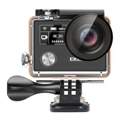 EKEN H8r VR360 4K Ultra HD Dual Color Screen Action Camera 170 Degree Lens with Remote