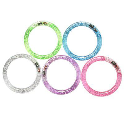 Acrylic Luminous LED Dot Transparent Bracelet for Children 1pc