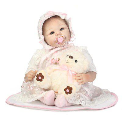 Emulate Reborn Baby Doll Early Education Toy Gift for Kids