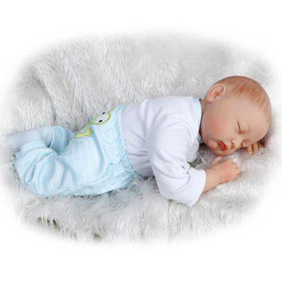 Soft Silicone Simulation Doll ToyStuffed Cartoon Toys<br>Soft Silicone Simulation Doll Toy<br><br>Features: Sleep Helping, Soft<br>Materials: Silica Gel<br>Package Contents: 1 x Doll Toy, 1 x Nipple, 1 x Bottle, 1 x Mat<br>Package size: 25.50 x 15.50 x 48.00 cm / 10.04 x 6.1 x 18.9 inches<br>Package weight: 1.8000 kg<br>Product size: 55.00 x 25.00 x 15.00 cm / 21.65 x 9.84 x 5.91 inches<br>Product weight: 1.5000 kg<br>Series: Reborn Doll<br>Theme: Baby Doll