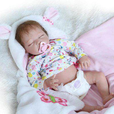 Simulation Soft Silicone Baby Doll Gift Toy