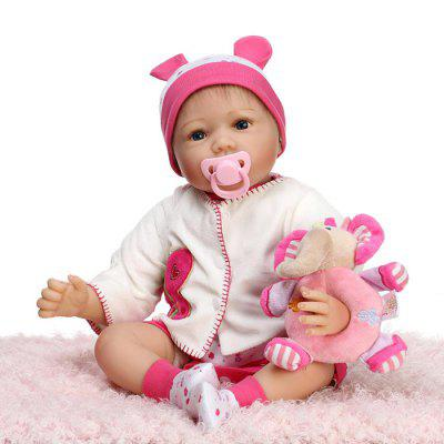 New Soft Silicone Vivid Reborn Baby Doll Puzzle Toy Gift