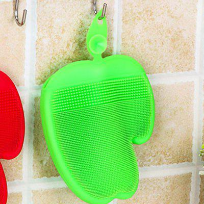 Silicone Skid-resistant Adiabatic Oil-free Cleaning GloveBrushes<br>Silicone Skid-resistant Adiabatic Oil-free Cleaning Glove<br><br>Available Color: Green,Red<br>Materials: Silicone<br>Package Contents: 1 x Glove<br>Package size (L x W x H): 13.00 x 15.50 x 2.50 cm / 5.12 x 6.1 x 0.98 inches<br>Package weight: 0.1050 kg<br>Product size (L x W x H): 12.50 x 15.00 x 1.80 cm / 4.92 x 5.91 x 0.71 inches<br>Product weight: 0.0880 kg<br>Types: Household Gloves