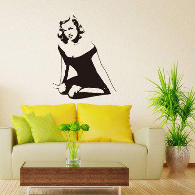 DIY Sexy Woman Design Wall Sticker Removable PVC Decal -$4.17 Online ...