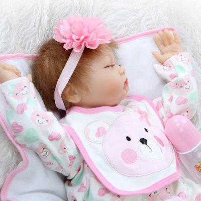 Emulate Reborn Baby Doll Sleep Helper Baby Care Prop ToyStuffed Cartoon Toys<br>Emulate Reborn Baby Doll Sleep Helper Baby Care Prop Toy<br><br>Features: Sleep Helping, Soft, Stuffed and Plush<br>Materials: Cloth, Silica Gel<br>Package Contents: 1 x Doll Toy, 1 x Bottle, 1 x Mat<br>Package size: 25.50 x 15.50 x 48.00 cm / 10.04 x 6.1 x 18.9 inches<br>Package weight: 1.8000 kg<br>Product size: 55.00 x 25.00 x 15.00 cm / 21.65 x 9.84 x 5.91 inches<br>Product weight: 1.5000 kg<br>Series: Reborn Doll<br>Theme: Baby Doll