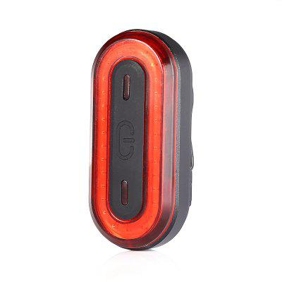 BK400 Waterproof USB Charging Bicycle Tail Light