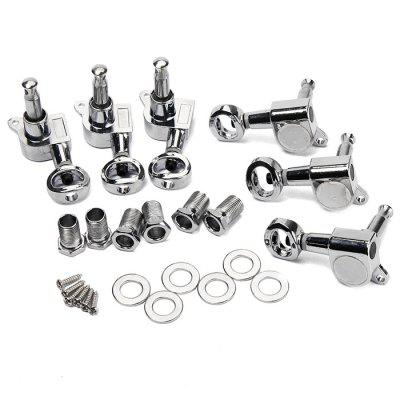 Sealed Guitar Tuning Pegs 3R3L Tuner Machine Head SetGuitar Parts<br>Sealed Guitar Tuning Pegs 3R3L Tuner Machine Head Set<br><br>Package Contents: 6 x Machine Head, 6 x Mounting Screw, 6 x Ferrule, 6 x Threaded Bushing<br>Package size: 15.00 x 10.00 x 4.80 cm / 5.91 x 3.94 x 1.89 inches<br>Package weight: 0.1760 kg