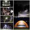 BRELONG Rechargeable Camping Lantern Power Bank Light Lamp - BLACK