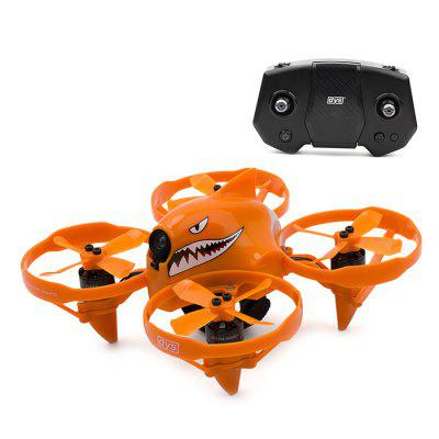 dys SHARK MAKO Brushless Micro RC Racing Drone  -  RTF  BRIGHT ORANGE