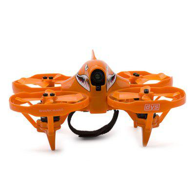 dys SHARK MAKO Brushless Micro RC Racing DroneBrushless FPV Racer<br>dys SHARK MAKO Brushless Micro RC Racing Drone<br><br>Brand: DYS<br>Flight Controller Type: F4<br>KV: 5400<br>Model: BE1104<br>Package Contents: 1 x RC Drone<br>Package size (L x W x H): 33.80 x 20.70 x 8.50 cm / 13.31 x 8.15 x 3.35 inches<br>Package weight: 0.2110 kg<br>Product size (L x W x H): 12.80 x 12.80 x 6.20 cm / 5.04 x 5.04 x 2.44 inches<br>Sensor: CMOS<br>Size: Micro<br>Type: Frame Kit