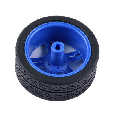 PXWG 1PJ000266 - 3 TT Motor Wheel No.7 for DIY 1PCSolar Powered Toys<br>PXWG 1PJ000266 - 3 TT Motor Wheel No.7 for DIY 1PC<br><br>Brand: PXWG<br>Package Contents: 1 x Wheel<br>Package size: 15.50 x 10.00 x 3.00 cm / 6.1 x 3.94 x 1.18 inches<br>Package weight: 0.0420 kg<br>Product size: 6.50 x 6.50 x 2.50 cm / 2.56 x 2.56 x 0.98 inches<br>Product weight: 0.0400 kg<br>Type: Others