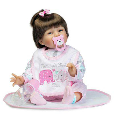 Vivid Soft Silicone Baby Doll Gift Toys for Kids
