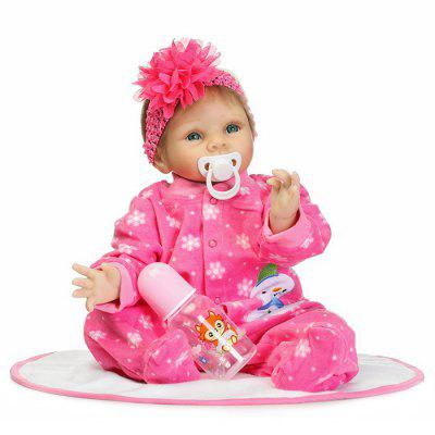 Vivid Artificial Baby Doll Education Gift Silicone Toys