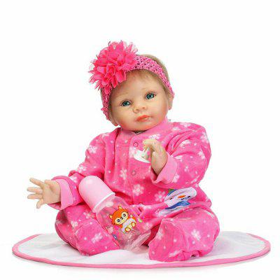 Vivid Artificial Baby Doll Education Gift Silicone ToysStuffed Cartoon Toys<br>Vivid Artificial Baby Doll Education Gift Silicone Toys<br><br>Features: Educational, Sleep Helping, Soft<br>Materials: Cloth, Silica Gel<br>Package Contents: 1 x Baby Doll, 1 x Mat, 1 x Nipple, 1 x Bottle<br>Package size: 25.50 x 15.50 x 48.00 cm / 10.04 x 6.1 x 18.9 inches<br>Package weight: 1.8000 kg<br>Product size: 55.00 x 25.00 x 15.00 cm / 21.65 x 9.84 x 5.91 inches<br>Product weight: 1.5000 kg<br>Series: Lifestyle,Reborn Doll<br>Theme: Baby Doll