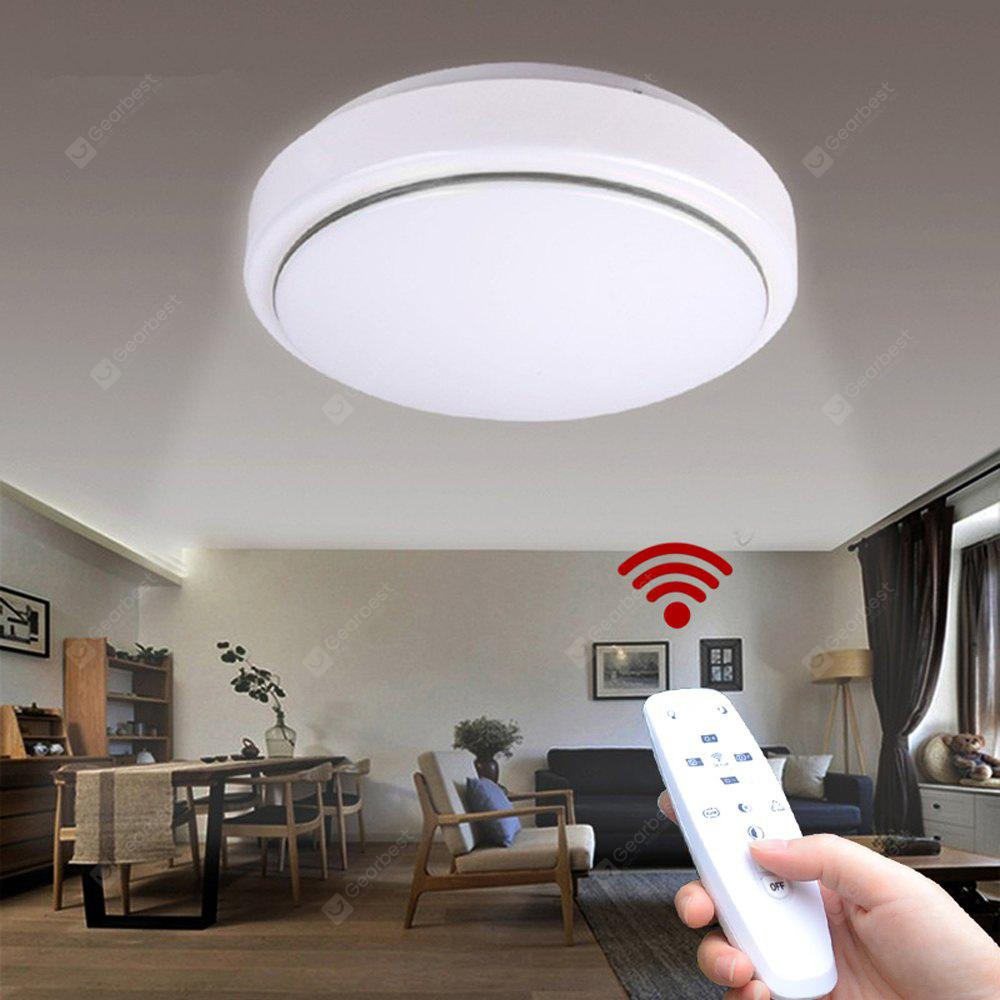 Jiawen Led Ceiling Light With 2 4g Rf Remote Controller