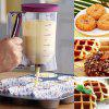 900ml Pancake Batter Dispenser Baking Accessories - TRANSPARENT