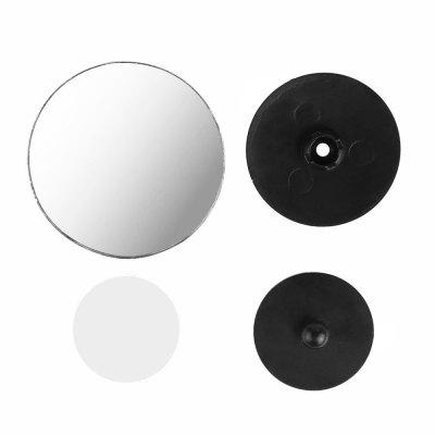 360 Side Wide Angle Round Convex Mirror Car  Blindspot Blind Spot Mirror Wide RearView  Round Mirror (2Pcs)