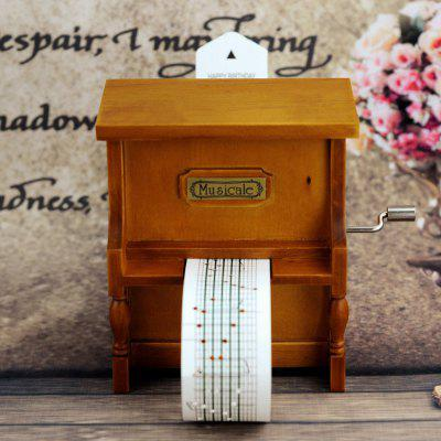 DIY Hand-held Upright Piano Music Box Gift puzzle multifunctional piano baby early education music hand drums intelligent piano toys