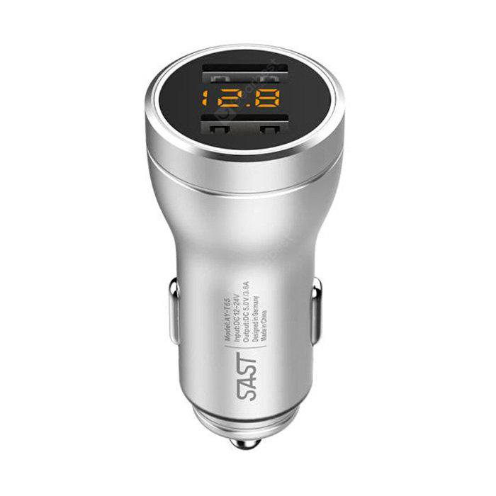 SAST AY - T65 Car Charger Smart Fast Dual USB 3.6A