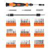 ZANMAX Screwdriver Appliance Repair Tool Set of 60 - BLACK AND ORANGE