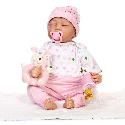 Cute Soft Silicone Vivid Reborn Baby Doll Toy