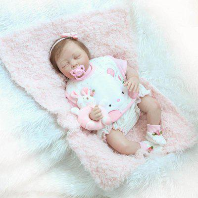 Vivid Simulation Soft Silicone Reborn Baby Doll Toy