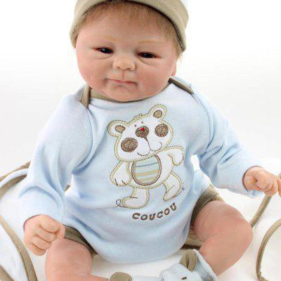 Emulate Reborn Baby Doll Kids Toy Gift Nurse Training Prop
