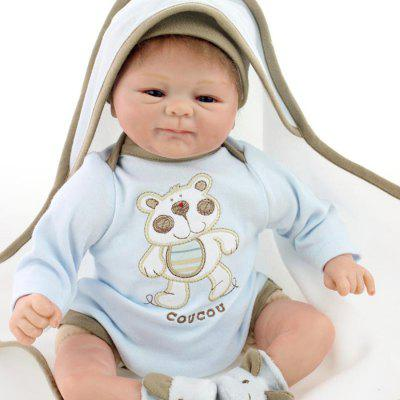 Emulate Reborn Baby Doll Kids Toy Gift Nurse Training PropStuffed Cartoon Toys<br>Emulate Reborn Baby Doll Kids Toy Gift Nurse Training Prop<br><br>Features: Sleep Helping, Stuffed and Plush<br>Materials: Cloth, Silica Gel<br>Package Contents: 1 x Doll Toy, 1 x Nipple, 1 x Mat<br>Package size: 20.50 x 14.50 x 41.50 cm / 8.07 x 5.71 x 16.34 inches<br>Package weight: 1.5000 kg<br>Product size: 40.00 x 12.00 x 24.00 cm / 15.75 x 4.72 x 9.45 inches<br>Product weight: 1.2000 kg<br>Series: Reborn Doll<br>Theme: Baby Doll