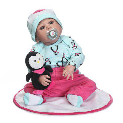 Silicone Simulation Reborn Baby Doll Toy