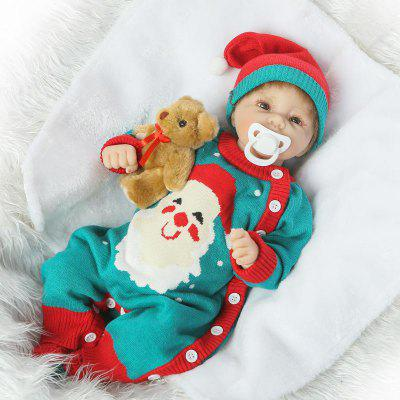 Soft Silicone Vivid Reborn Baby Doll Toy Gift