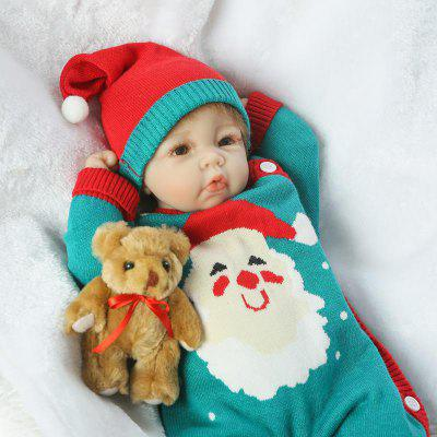 Soft Silicone Vivid Reborn Baby Doll Toy GiftStuffed Cartoon Toys<br>Soft Silicone Vivid Reborn Baby Doll Toy Gift<br><br>Features: Sleep Helping, Soft<br>Materials: Silica Gel<br>Package Contents: 1 x Doll Toy, 1 x Bear Decoration, 1 x Nipple<br>Package size: 25.50 x 15.50 x 48.00 cm / 10.04 x 6.1 x 18.9 inches<br>Package weight: 1.5000 kg<br>Product size: 50.00 x 24.00 x 12.00 cm / 19.69 x 9.45 x 4.72 inches<br>Product weight: 1.2000 kg<br>Series: Reborn Doll<br>Theme: Baby Doll