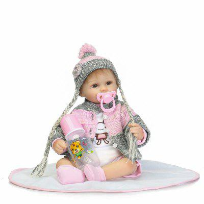 Personality Present Soft Silicone Vivid Reborn Baby Doll Toy
